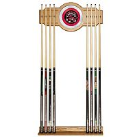 Toronto Raptors Billiard Cue Rack with Mirror
