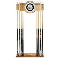 San Antonio Spurs Billiard Cue Rack with Mirror