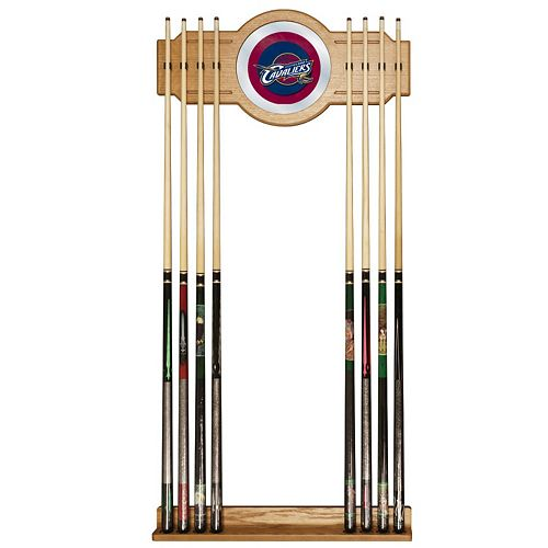 Cleveland Cavaliers Billiard Cue Rack with Mirror
