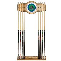 Minnesota Timberwolves Billiard Cue Rack with Mirror