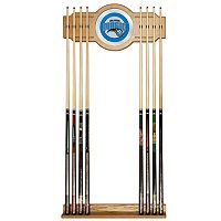 Orlando Magic Billiard Cue Rack with Mirror
