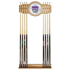 Sacramento Kings Billiard Cue Rack with Mirror