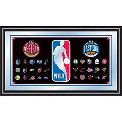 NBA Framed Logo Wall Art