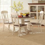HomeVance Kaycee 5 pc Dining Table & Chair Set