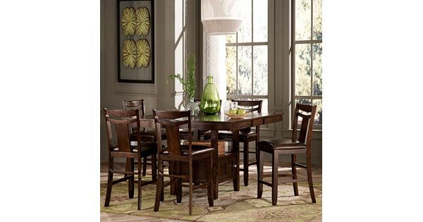 HomeVance Franklin 7-pc. Extendable Dining Table And Chair Set
