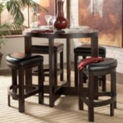 HomeVance Dintero 5-pc. Pub Table Set