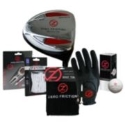 Zero Friction 6-pc. Driver and Accessory Set - Men