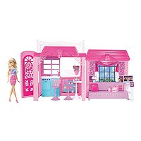 Barbie Pink-Tastic Glam Vacation House & Doll