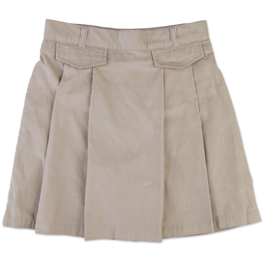 Girls 4-6x Chaps Corduroy Pleated School Uniform Skort