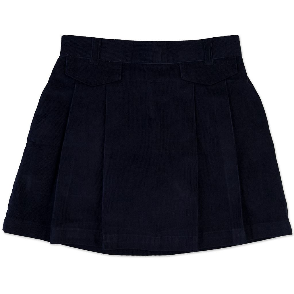 Girls 4-6x Chaps Corduroy Pleated School Uniform Skort