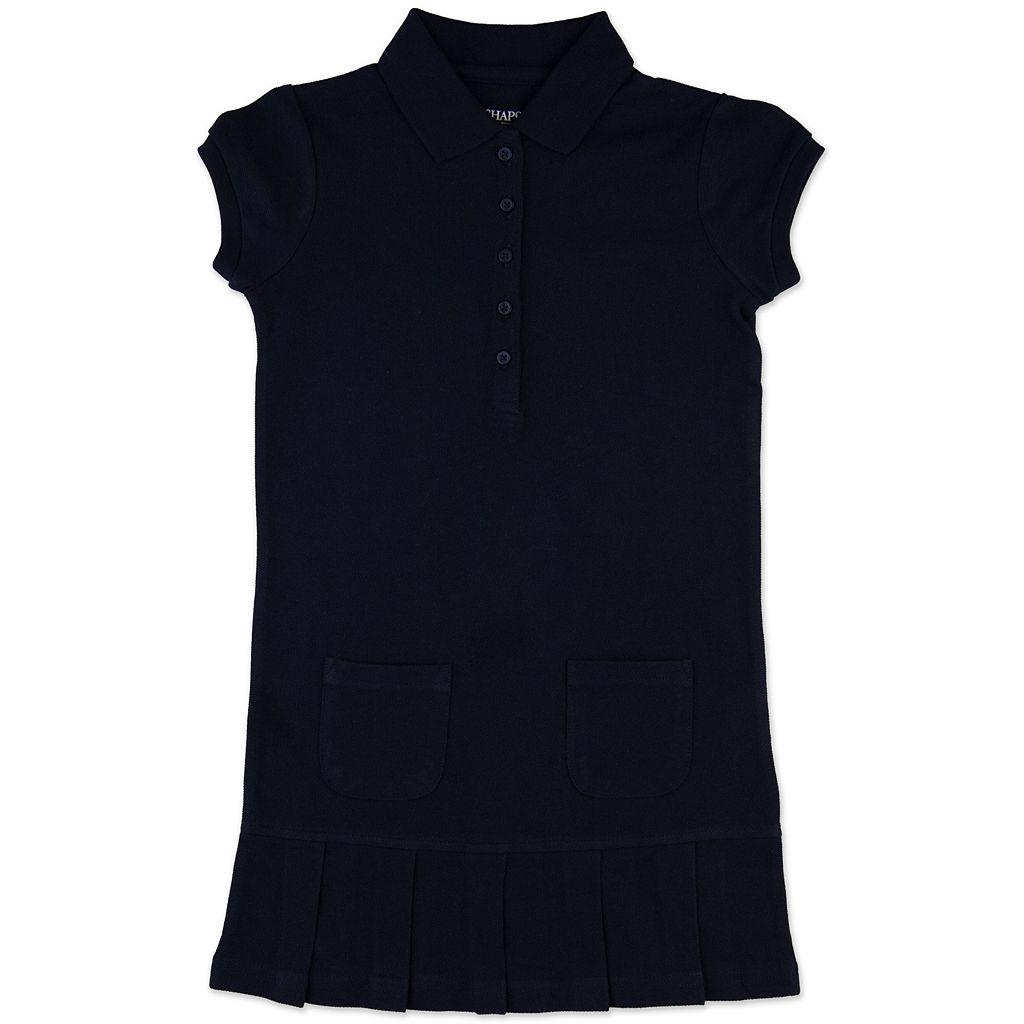 Girls 4-6x Chaps Pique School Uniform Polo Dress