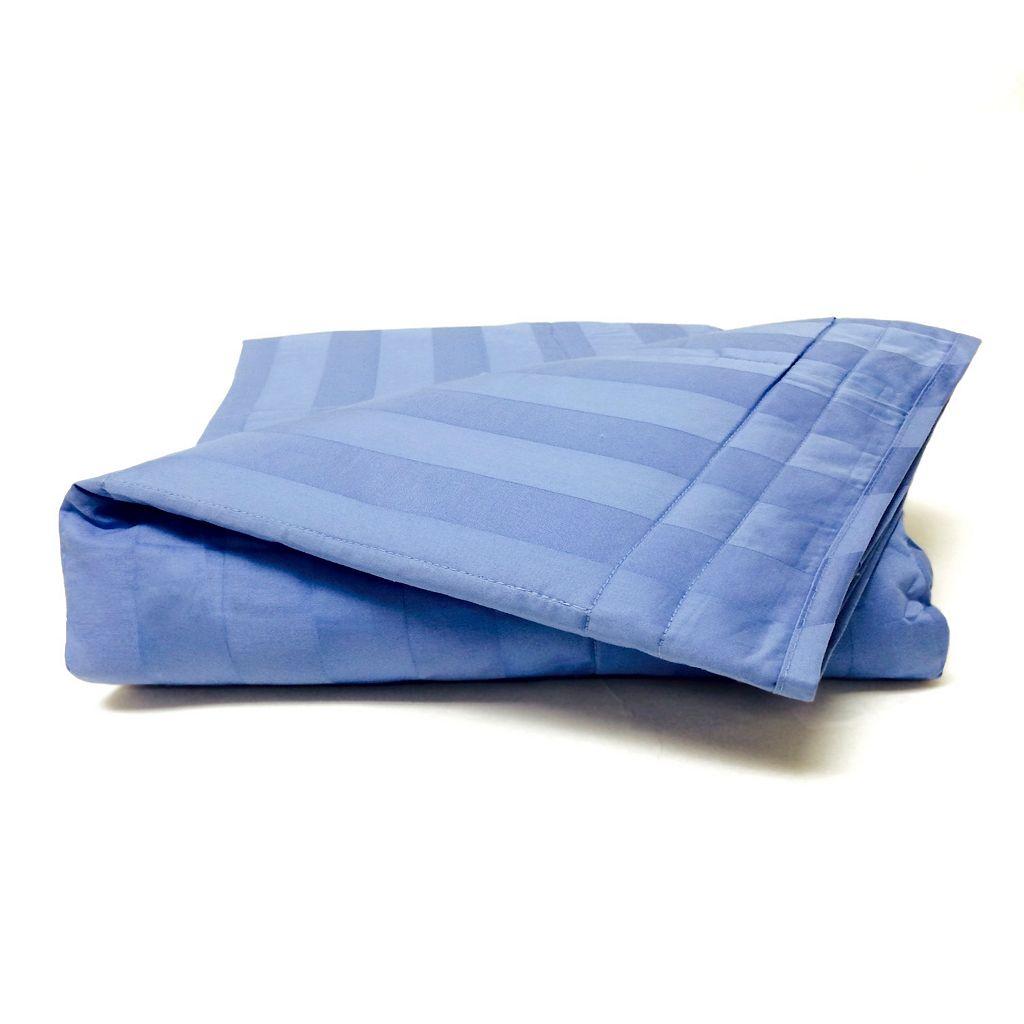 Cotton Loft® 300-Thread Count Damask Stripe Throw