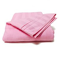 Cotton Loft® 300-Thread Count Damask Stripe Throw