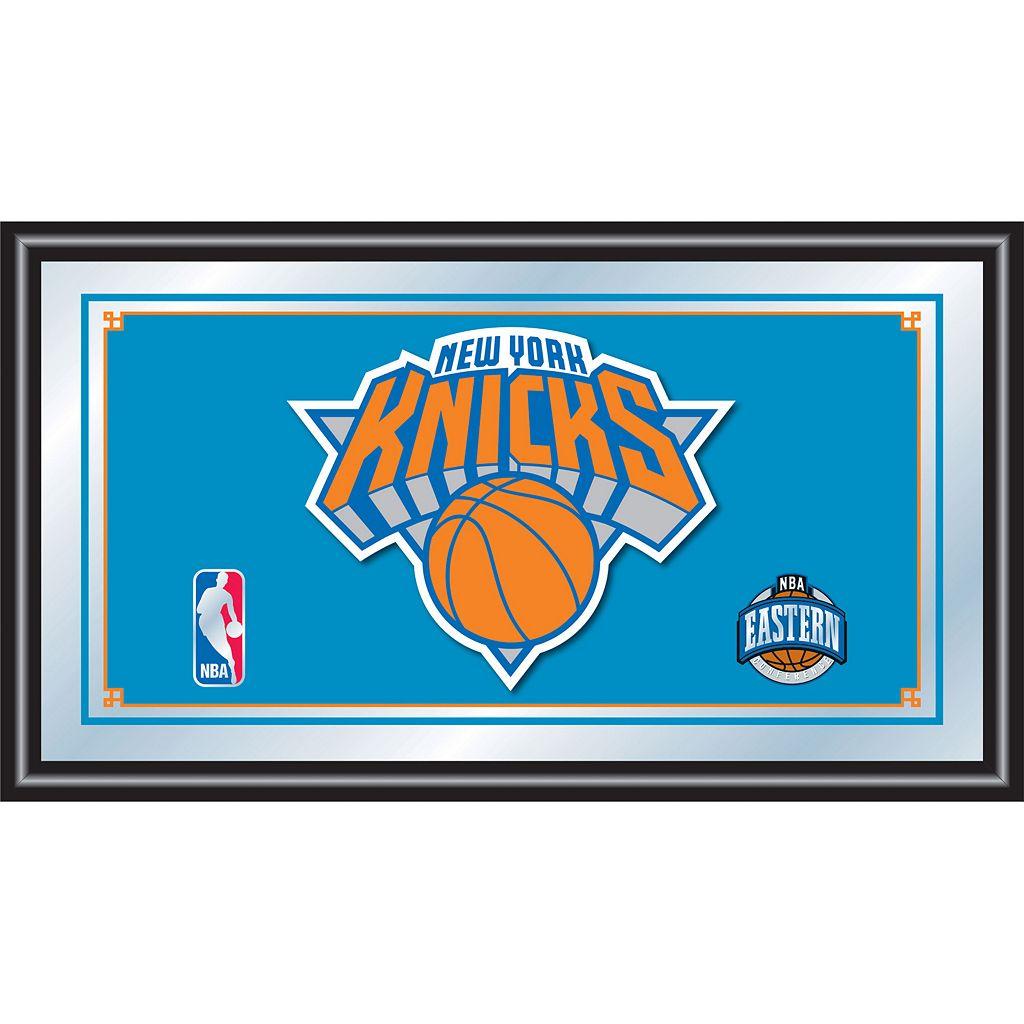 New York Knicks Framed Logo Wall Art