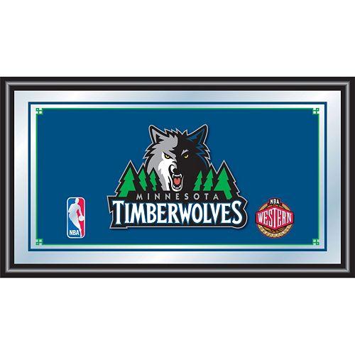 Minnesota Timberwolves Framed Logo Wall Art