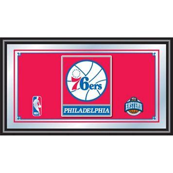Philadelphia 76ers Framed Logo Wall Art