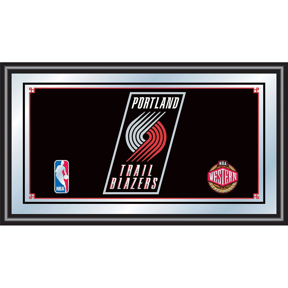 Portland Trail Blazers Framed Logo Wall Art