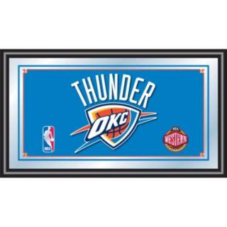 Oklahoma City Thunder Framed Logo Wall Art