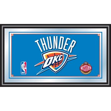 Oklahoma City Thunder Framed Logo Wall Art