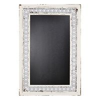 Sheffield Home Lace Framed Chalkboard Wall Decor