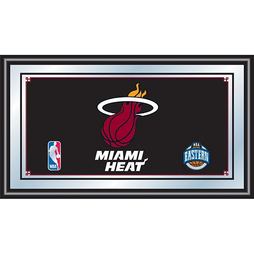 Miami Heat Framed Logo Wall Art