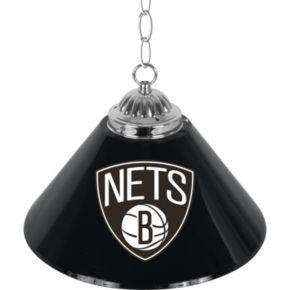 "Brooklyn Nets Single-Shade 14"" Bar Lamp"