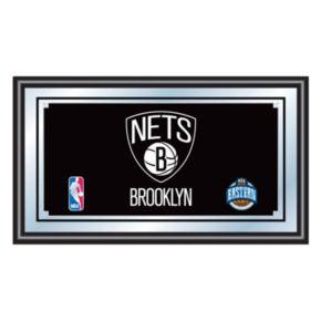 Brooklyn Nets Framed Logo Wall Art