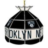 "Brooklyn Nets 16"" Tiffany-Style Lamp"