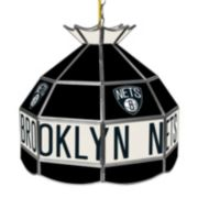 "Brooklyn Nets 16"" Tiffany-Style Lamp"