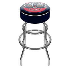 New Orleans Pelicans Padded Swivel Bar Stool