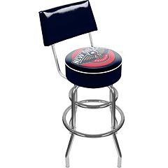 New Orleans Pelicans Padded Swivel Bar Stool with Back