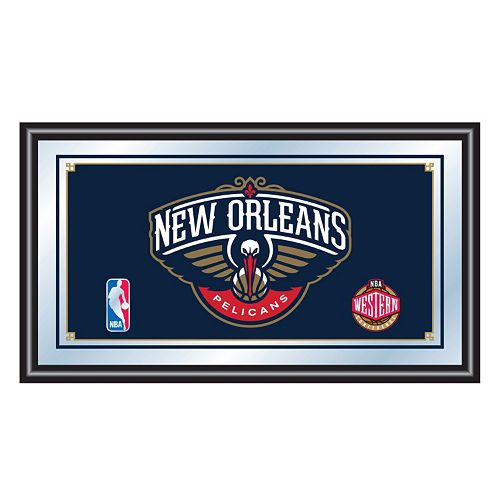 New Orleans Pelicans Framed Logo Wall Art
