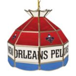 "New Orleans Pelicans 16"" Tiffany-Style Lamp"