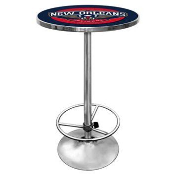New Orleans Pelicans Chrome Pub Table