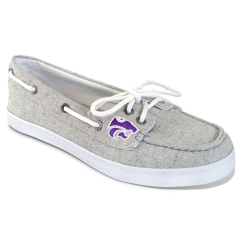 Women's Campus Cruzerz Kansas State Wildcats Kauai Boat Shoes