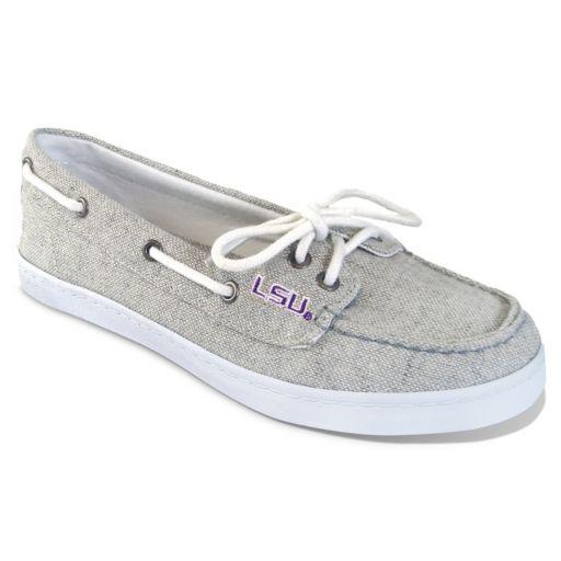 Women's Campus Cruzerz LSU Tigers Kauai Boat Shoes