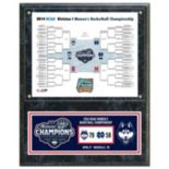 "UConn Huskies 2014 NCAA Women's Basketball Champions 12"" x 15"" Plaque"