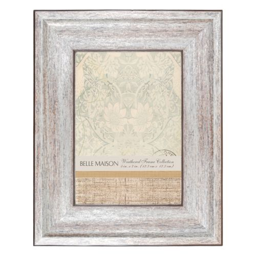 "Belle Maison 5"" x 7"" Distressed Frame"