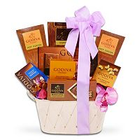 Alder Creek Godiva Chocolate Timeless Treasures Gift Basket