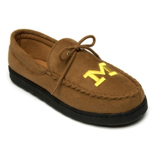 Michigan Wolverines Microsuede Moccasins - Men