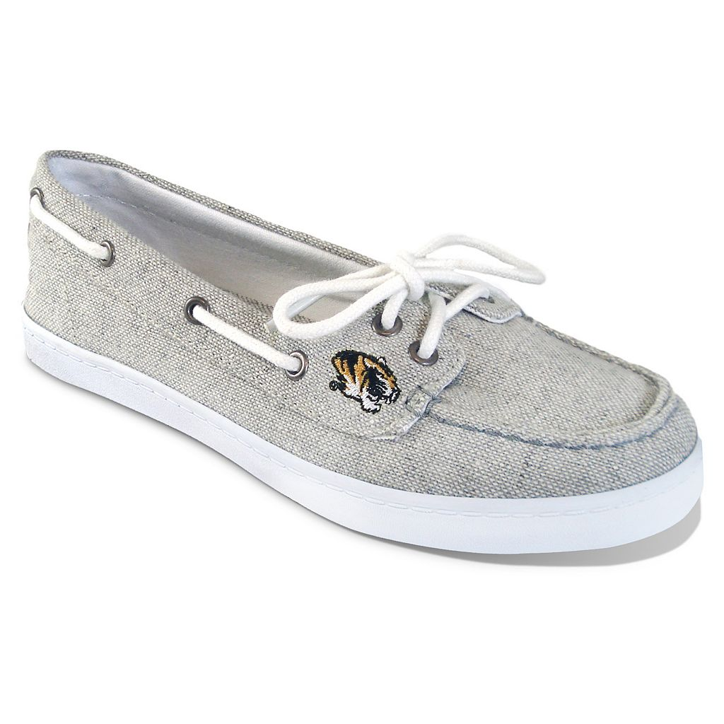 Women's Campus Cruzerz Missouri Tigers Kauai Boat Shoes