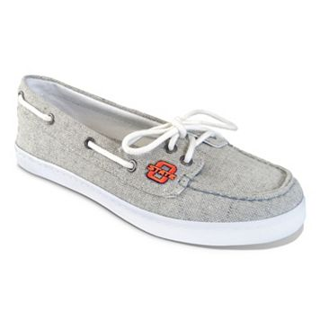 Women's Campus Cruzerz Oklahoma State Cowboys Kauai Boat Shoes