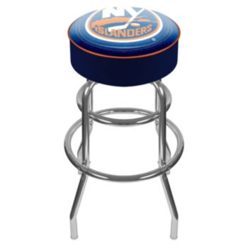 New York Islanders Padded Swivel Bar Stool