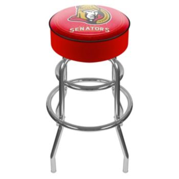 Ottawa Senators Padded Swivel Bar Stool