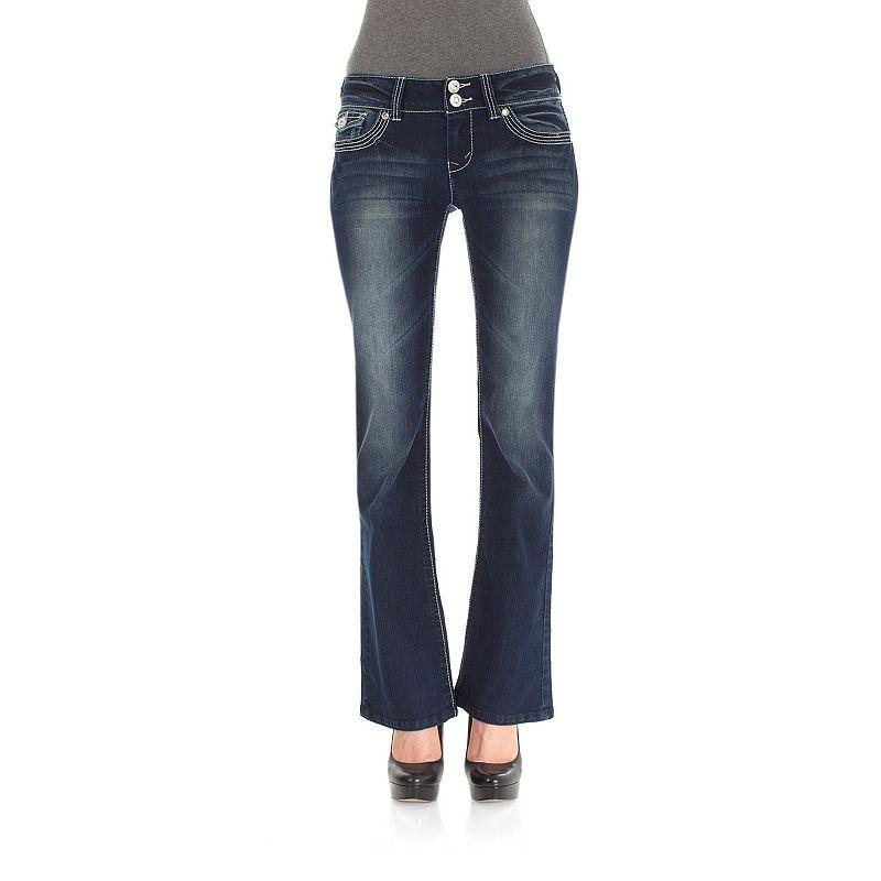 Wallflower Luscious Curvy Bootcut Jeans - Juniors