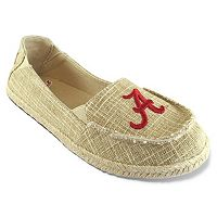 Women's Campus Cruzerz Alabama Crimson Tide Sparkle Cabo Slip-On Shoes