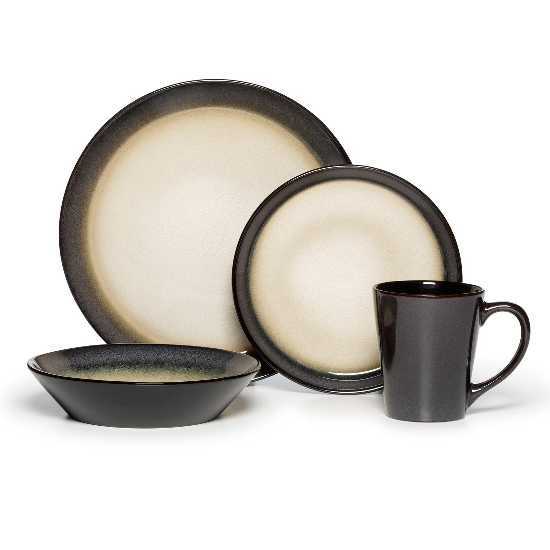 sc 1 st  Kohlu0027s & Pfaltzgraff Everyday Aria Grey 16-pc. Dinnerware Set