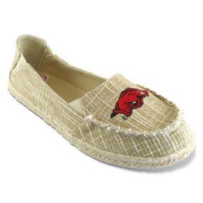 Women's Campus Cruzerz Arkansas Razorbacks Sparkle Cabo Slip-On Shoes