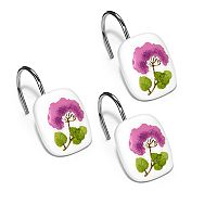 Jasmine 12-pk. Shower Curtain Hooks