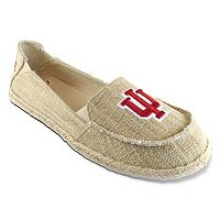 Women's Campus Cruzerz Indiana Hoosiers Sparkle Cabo Slip-On Shoes